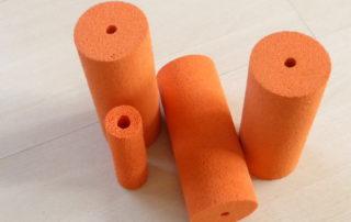 Sponge rubberen rollen